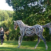 Pferdeskulptur - Heather Jansch