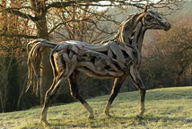 Treibholzskulptur - Heather Jansch