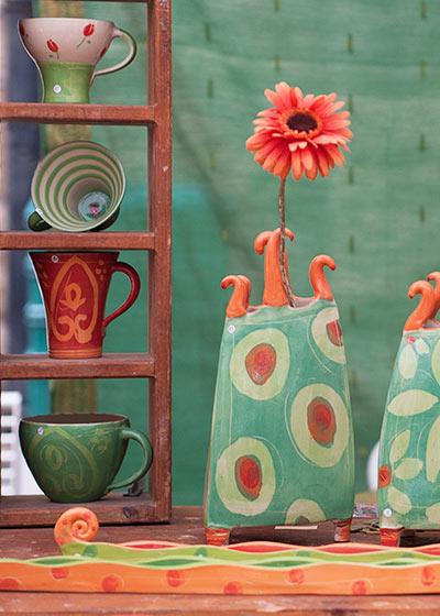 Keramik Kunst Für Den Garten gartenkeramik - creativ100.de