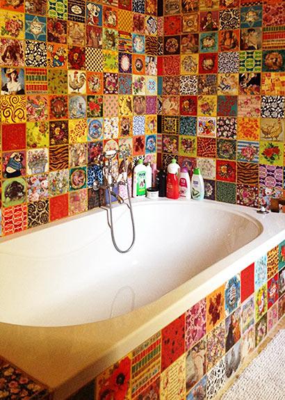 Mosaik Nira Ben David-Peled - auf Creativ100!