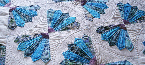Steppdecke Quilt - Nifty Stitcher