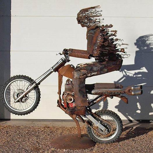 brubaker weinflaschenhalter motorrad paar mit beiwagen und. Black Bedroom Furniture Sets. Home Design Ideas