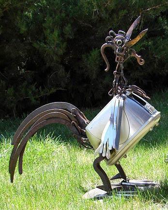 Skulpturen aus Stahl -Wilhelms Art - Creativ100.de
