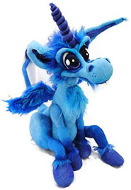 Blaues Einhorn - blue unicorn