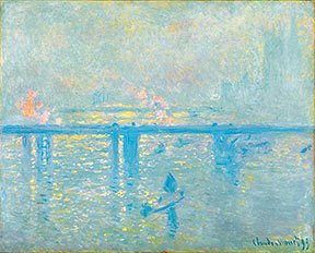 Claude Monet. Charing Cross Bridge, 1899.