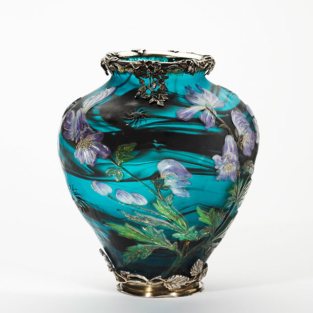 Vase. Emile Gallé, Nancy 1895-1900.